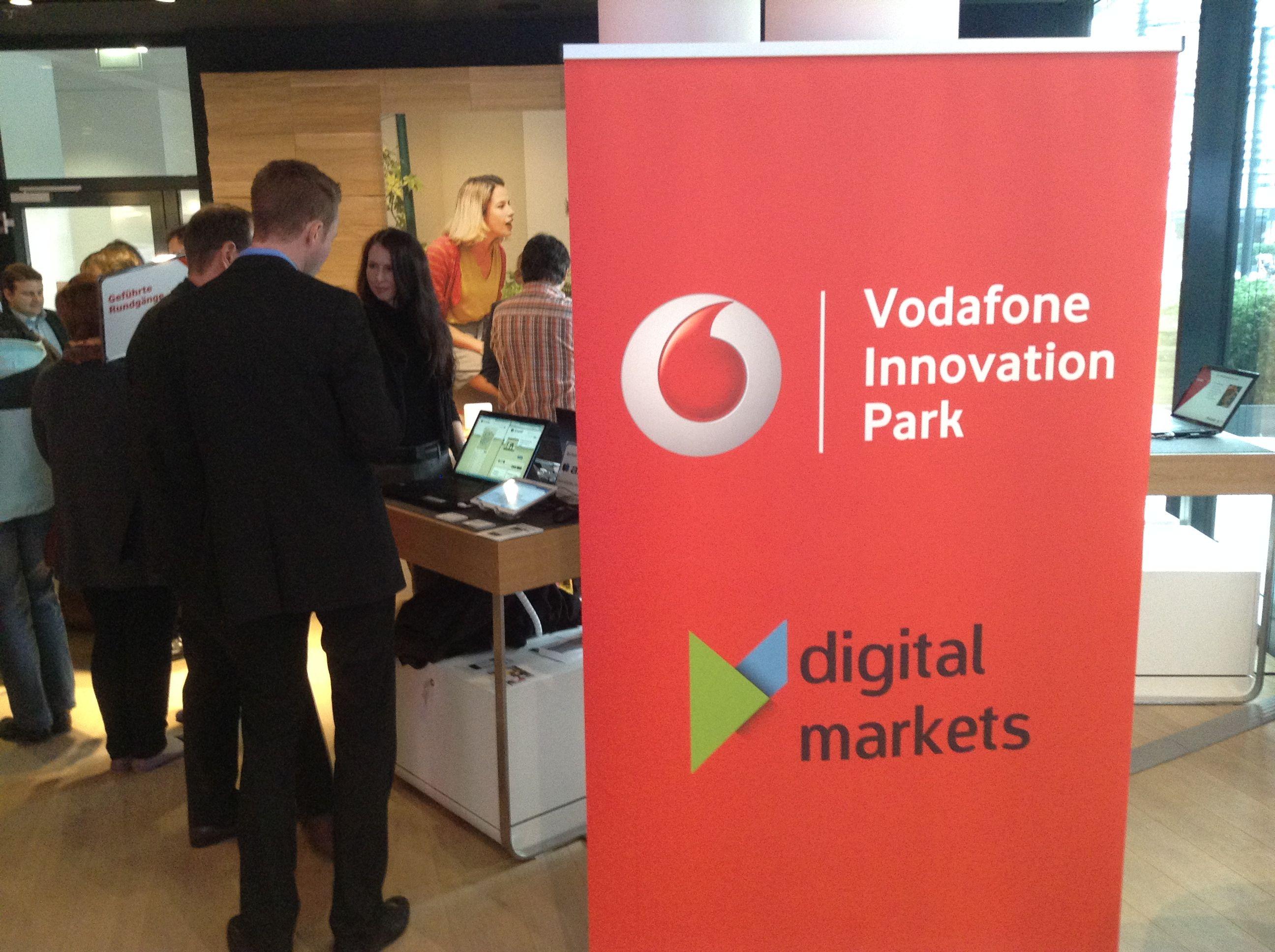 Parkplatz App ampido im Vodafone Innovation Park