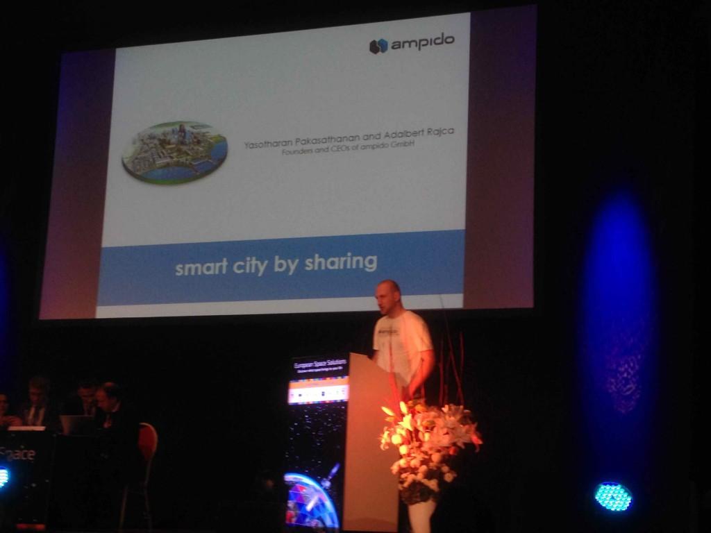 Parkplatz Sharing ampido für Smart City München