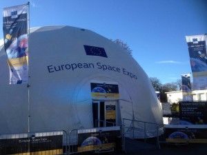 ampido bei der European Space Expo