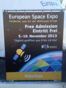 ampido bei der European Space Expo Muenchen