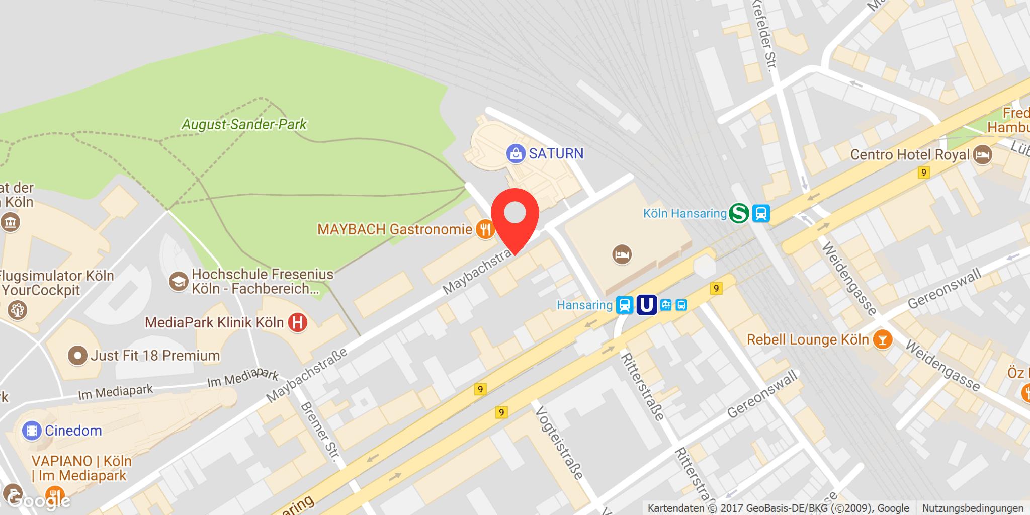 parkplatz maybachstraße, köln – ampido