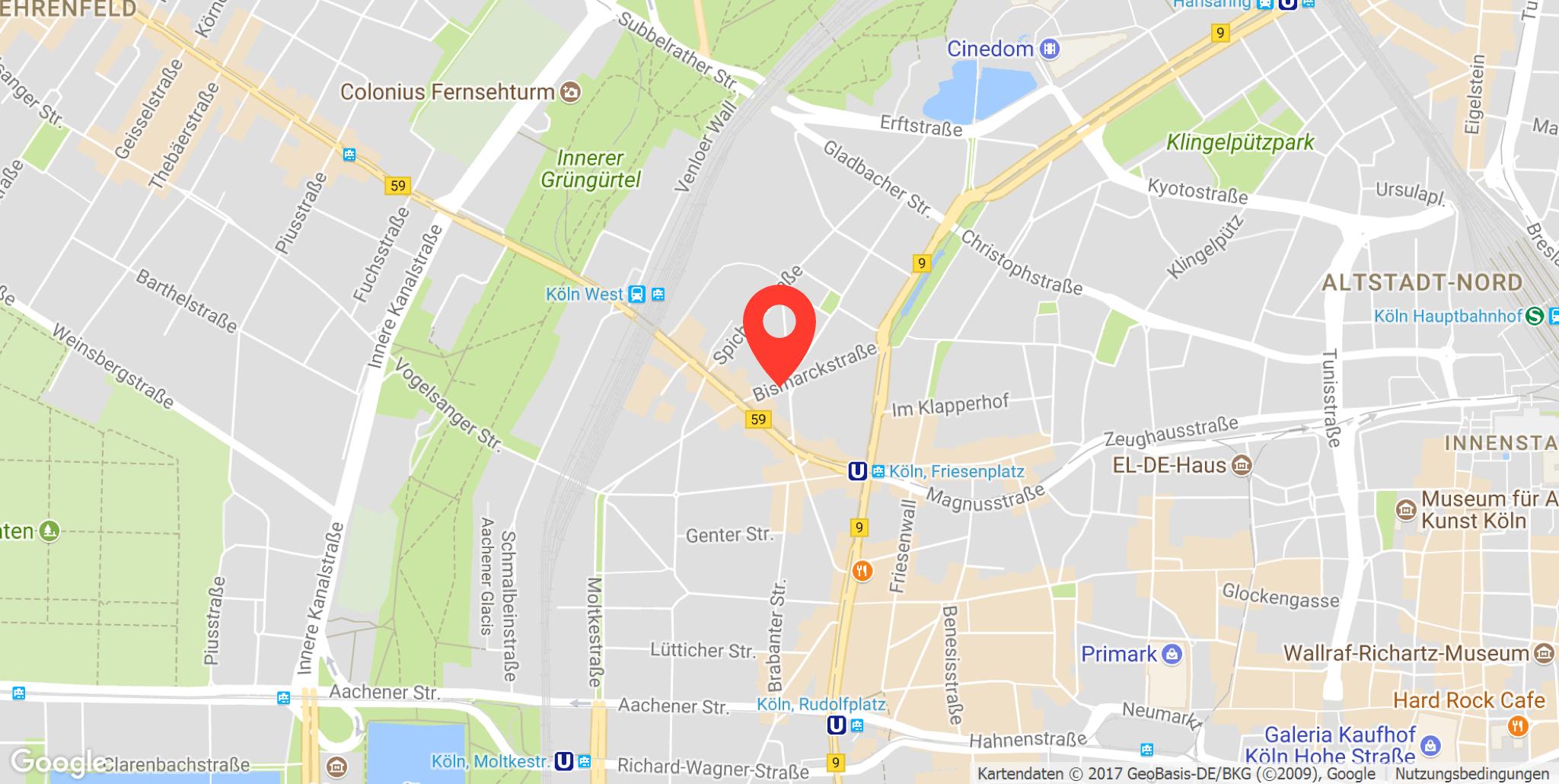 Parkplatz Friesenplatz, Köln