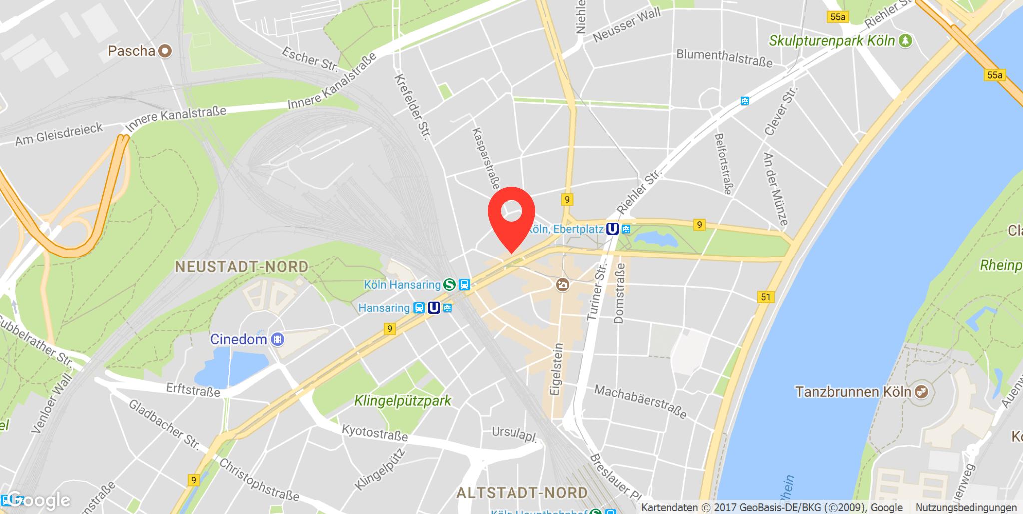 Parkplatz Hansaring, Köln